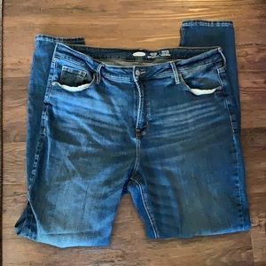Old Navy distressed skinny jeans size 16 Long